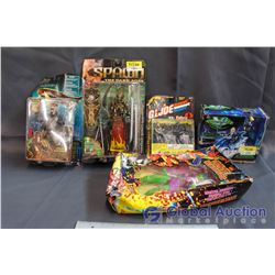 Misc NIB Toys - Spawn, Atlantis, Marvel Universe, GI Joe, Voltron