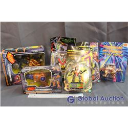 NIB Tranformer Toys (4) and Misc