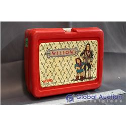 Vintage Willow Plastic Lunch Box