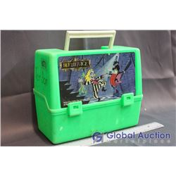 Vintage Beetlejuice Plastic Lunch Box