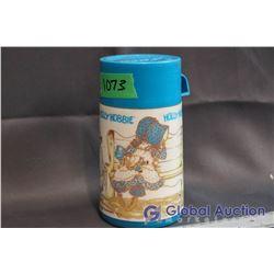 Vintage Holly Hobbie Plastic Thermos