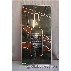 Plastic Canadian Club Whiskey Sign (18' x 36')