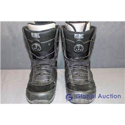Ride Anthem Black Snowboard Boots - Mondo 29, Size 11