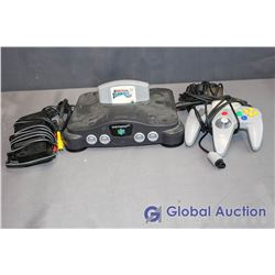 Nintendo 64 Game Console With 1 Controller and 1 Game (Olympic Hockey)