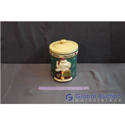 Happy Holidays Santa Cookie Jar