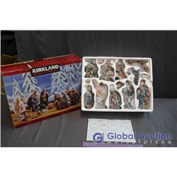 Kirkland Nativity Scene New in Box - 15 Pieces