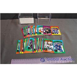 2014-2015 O Pee Chee Sticker Set #1-99 Hockey Cards #