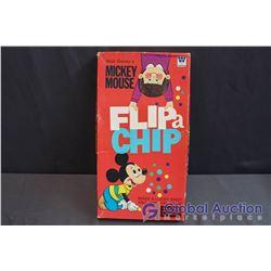 Walt Disney's Mickey Mouse FLIP a CHIP Board Game