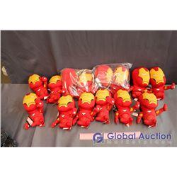 Lot Of Iron Man Stuffies (14)