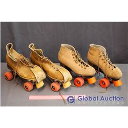 (2) Pair Of Roller Skates
