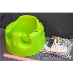 Bumbo Green Baby Chair