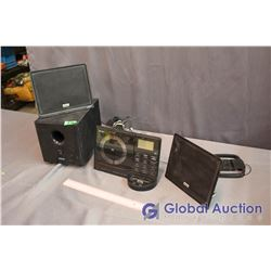 Teac CD Player And Speaker Set