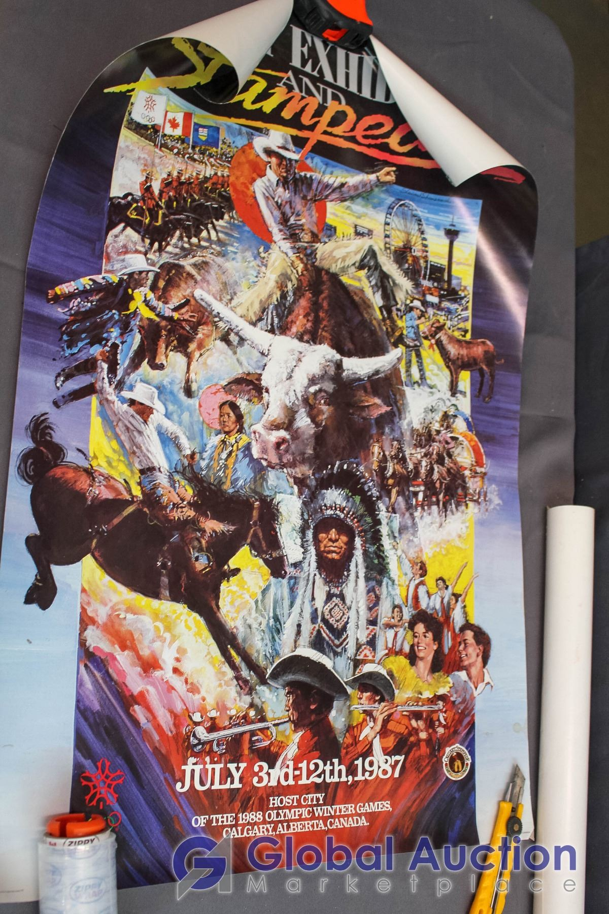 Lot Of Calgary Stampede Posters 3