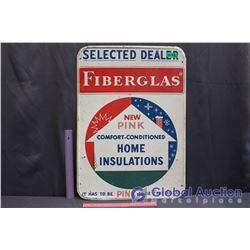 """Selected Dealer Fiberglas Metal Sign (19.5""""x 27"""")"""