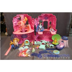 Vintage She-Ra Playset w/Accessories
