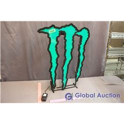 Monster Light Up Sign (Working)