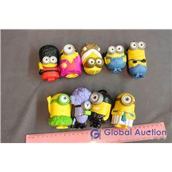 Lot of Minion MacDonald's Toys