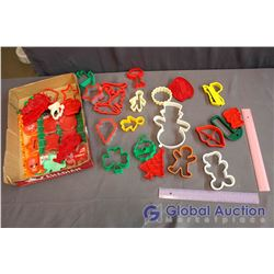Lot Of Holiday Cookie Cutters