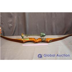 Recurve Archery Craft Bow With Bear Quiver