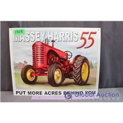 Massey-Harris Reproduction Metal Sign