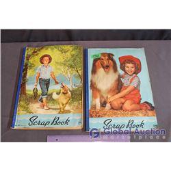 (2) Vintage Scrapbooks