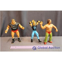 (3) Wrestling Action Figures