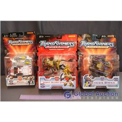 NIB Transformers Universe Toys (Night Slash Cheetor, Prowl, Nemesis Strika)