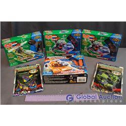 (4) NIB GI Joe & Transoids Toys