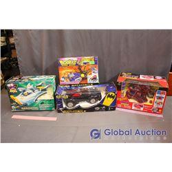 NIB Spider-Man, Batman, Mighty Ducks & Beast Wars Toys
