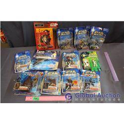 Lot of NIB Star Wars Toys