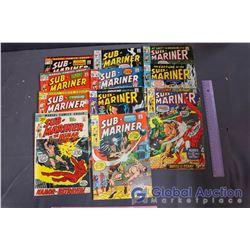 (11) Vintage Sub-Mariner Comics