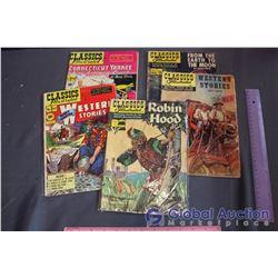 (5) Classics Illustrated Comics