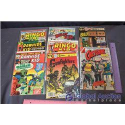 (8) Vintage Western Comics