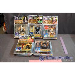 (4) NIB Bruisers Toys