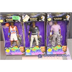 (3) NIB Space Jam Michael Jordan Toys