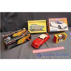 Vintage Toy Car Lot (Thunderbird, Belarus, Corvette)
