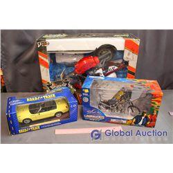 (3) Models (Turbo Pro, Thunderbird, Motorcycle)