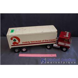 Vintage Toy Food Truck