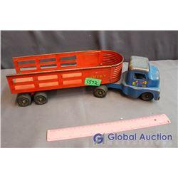 Vintage Metal Husky Toy Truck