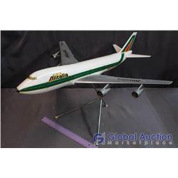 Alitalia Model Airplane