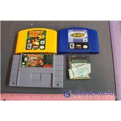 Lot of Misc Vintage Nintendo Games (N64, SNES, GBC)