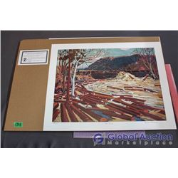 The Drive' Numbered Print By Tom Thomson And Group Of Seven Publishing W/ COA