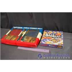 Blockus Game & Official Table Tennis Set