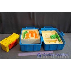 Vintage Kids Plastic Tool Set