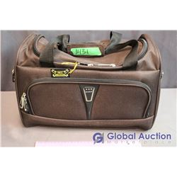 "Unused Samboro Travel Bag - 16""x10""x11"" Dark Brown"