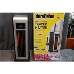 Duraflame Infrared Quartz Tower Heater, Like New