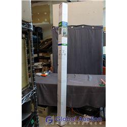 """Genius Retractable Screen Door Sierra 100 Single Door - White, Fits 36.25""""x 78.5""""-80.5"""" New In Box"""