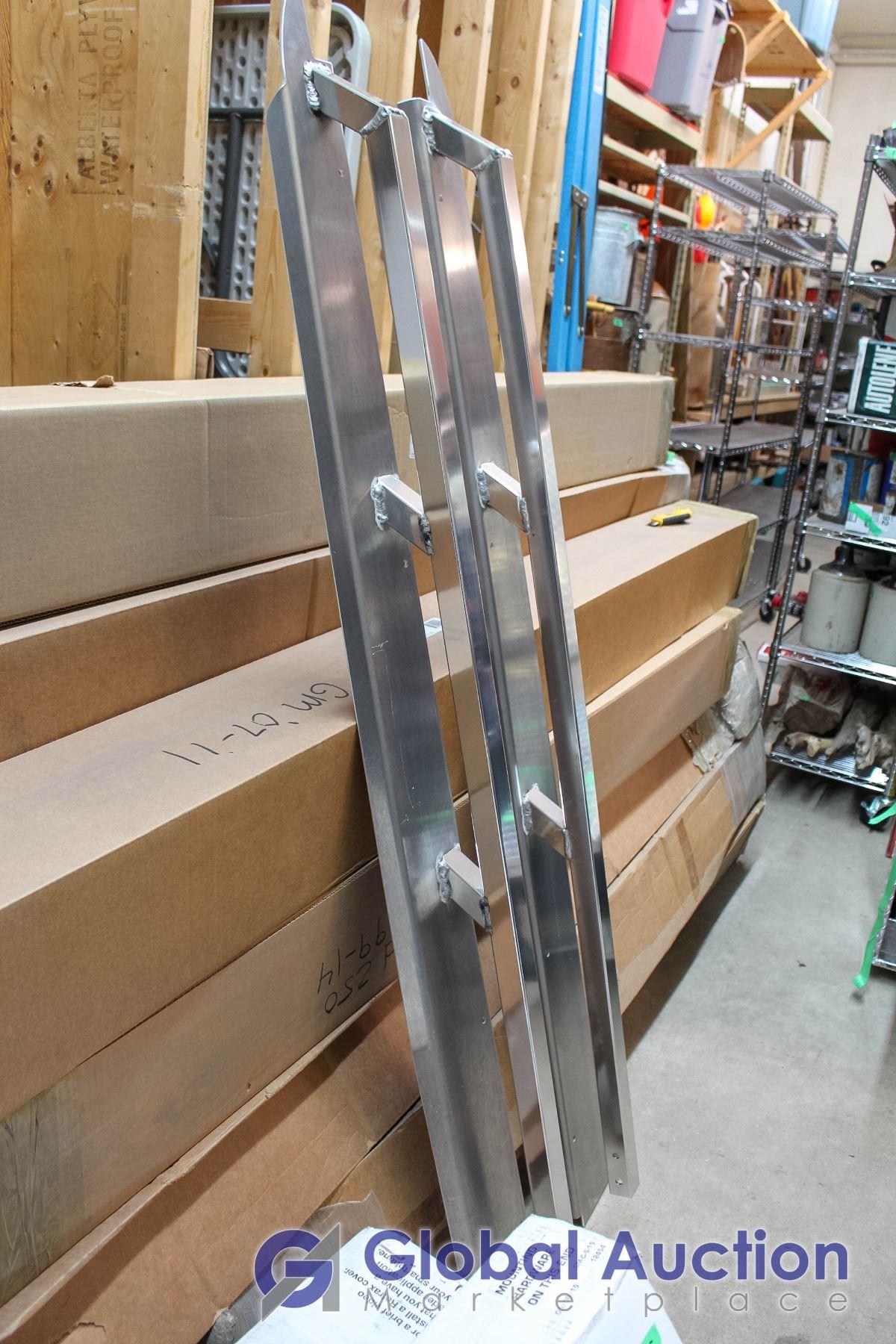 Ford F-150 09-14 5 5' Box Aluminum Rails  Part # ASR-534, Advance  Manufacturing, S&D