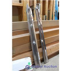 GM 07-11, Aluminum Long Box Rails, X-Over, Part # ASR-423, Advance Manufacturing, S&D