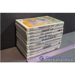 Lot Of Wii Games (10) (Wiifit, The Kore Game, The Beatles Rock Band, Transformers, Wipout 2, Rise Of